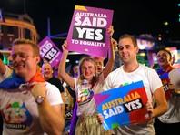 В Сиднее участникам фестиваля геев и лесбиянок с неба напомнили об Иисусе