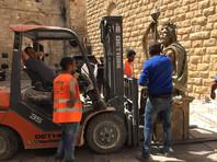 В Иерусалиме снесли подаренную российским фондом статую царя Давида - израильтянам не нравилось его ухо (ВИДЕО)