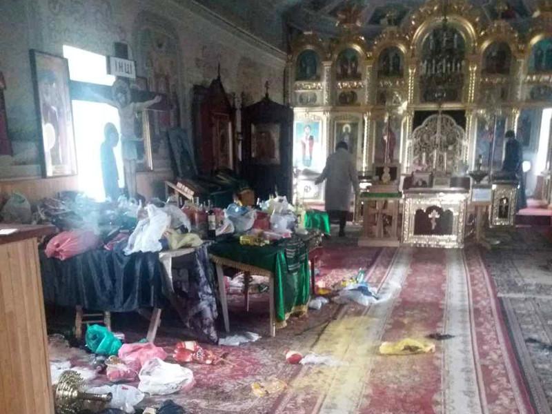 В Одесской области взломали храм УПЦ Московского патриархата, раскидав по полу святыни и продукты