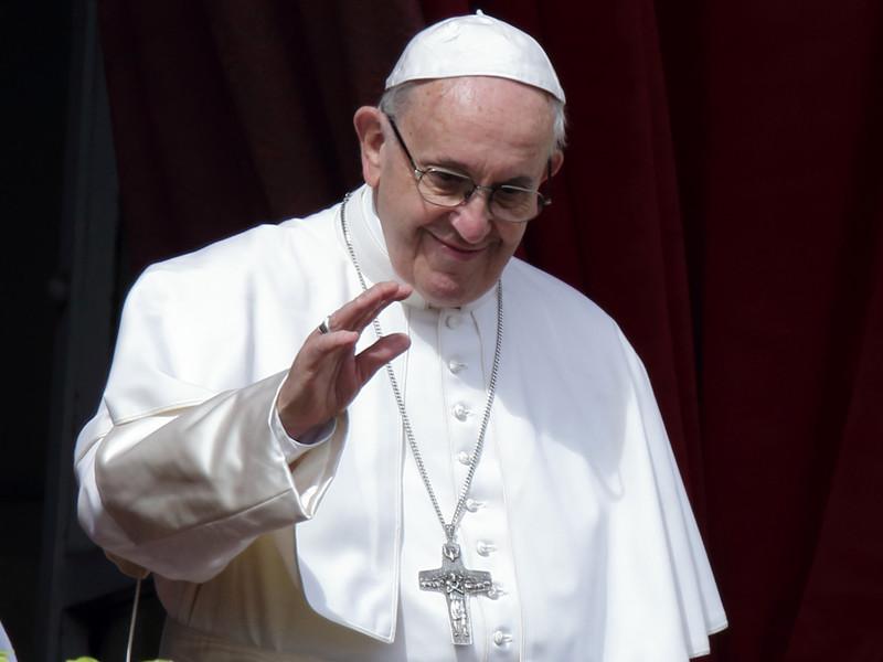 """Папа Римский в послании """"Граду и миру"""" поздравил верующих с католической Пасхой"""