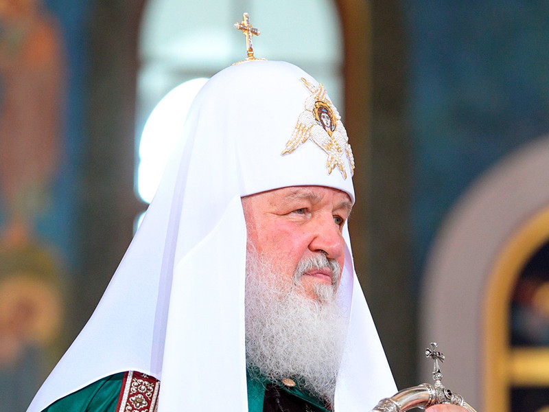 Патриарх Кирилл рассказал на литургии в храме Христа Спасителя о правильном отношении к деньгам