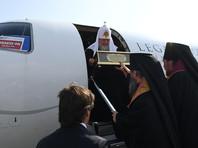 Журналисты выяснили, на чьем бизнес-джете прилетел в Екатеринбург патриарх Кирилл