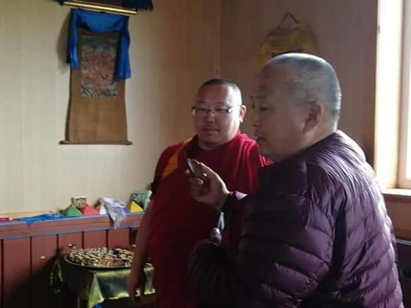 """На территории Шулутского дацана """"Гандан Даржалин"""" в Заиграевском районе Бурятии 20 июля нашли реликвию, утраченную 80 лет назад. Святыня, как оказалось, помогает от проблем со слухом"""
