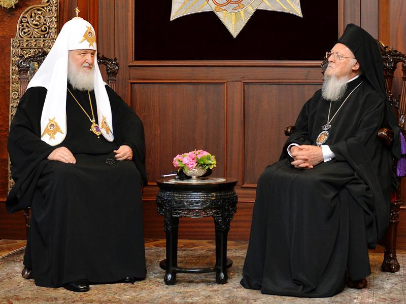 Патриарх Московский и всея Руси Кирилл в пятницу, 31 августа, встретился в Стамбуле с Вселенским патриархом, архиепископом Константинополя - Нового Рима Варфоломеем