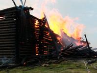 В Карелии сгорела уникальная Успенская  церковь XVIII века