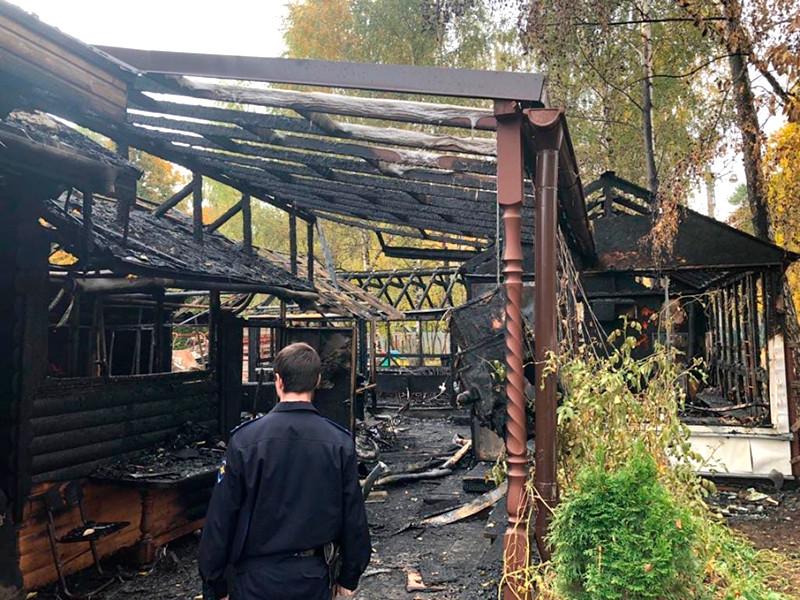 На востоке Москвы подожгли деревянный храм и воскресную школу, возбуждено уголовное дело