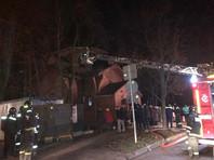 В Тушино сожгли храм, против которого выступали жители, у местного активиста прошел обыск