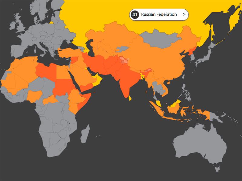 Россия впервые попала в список из 50 стран, где христиане подвергаются гонениям