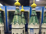Жителей и священников Красноярска возмутили бутылки водки в форме местной часовни (ФОТО)