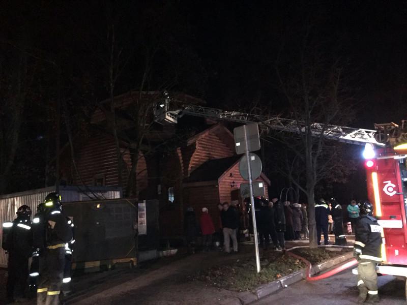Вечером 6 ноября 2018 года в деревянном здании храма Иоанна Богослова в районе Тушино случился пожар, практически полностью уничтоживший здание