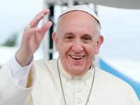 В Софии Папа Римский помолился перед иконами святых Кирилла и Мефодия