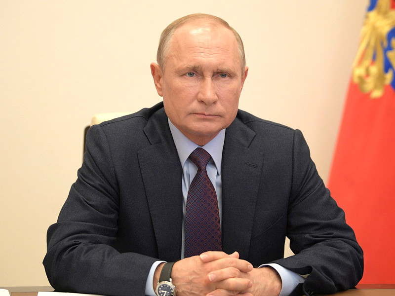 6 мая Владимир Путин провел совещание по вопросам реализации мер поддержки экономики и социальной сферы