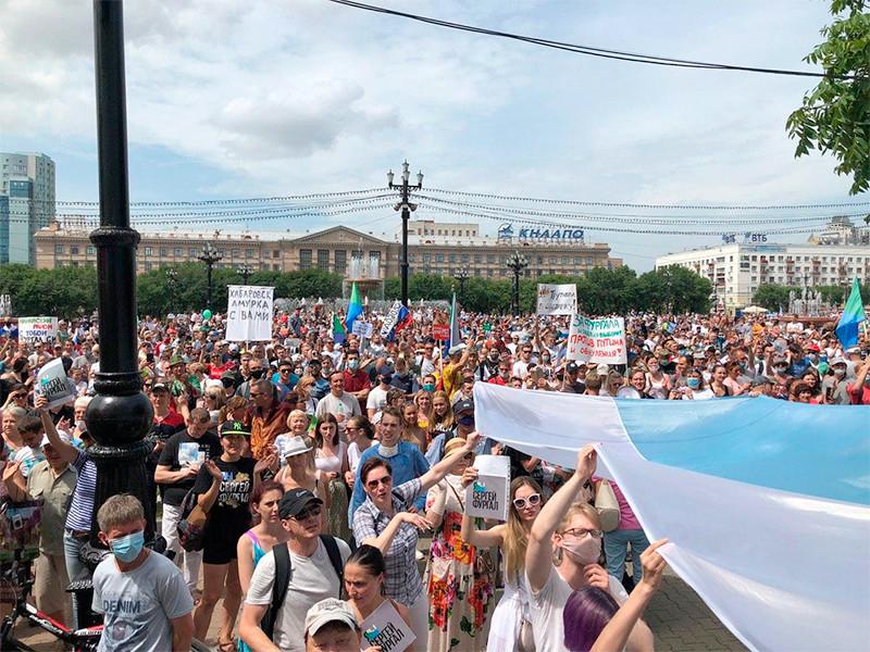 Хабаровск, 25 июля 2020 года