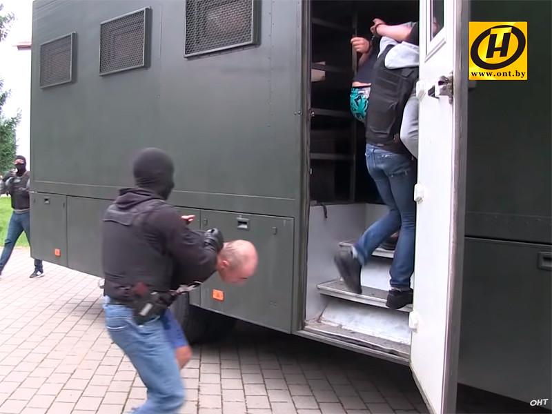 Задержание россиян из частной военной кампании под Минском