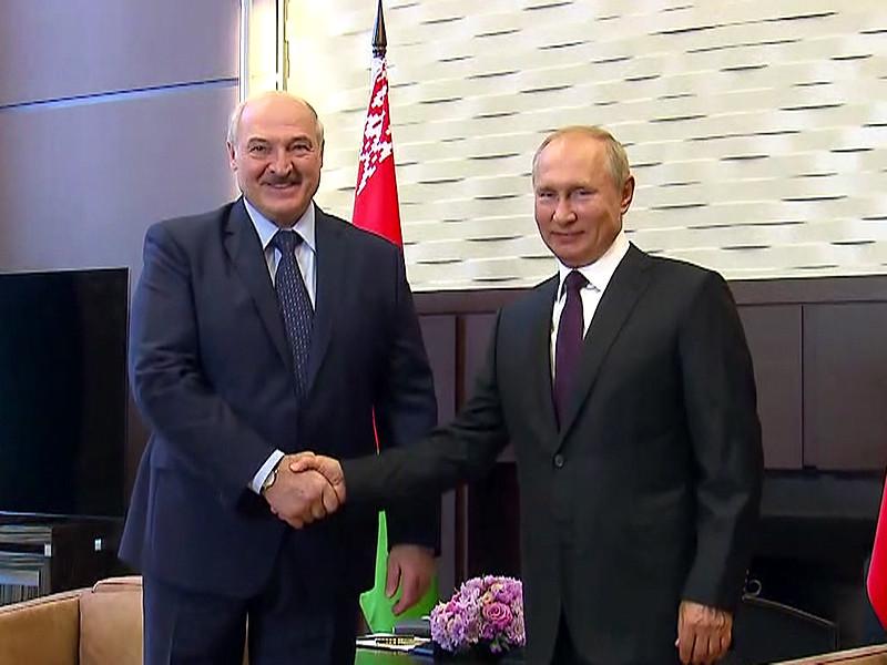 Владимир Путин и Александр Лукашенко, 14 сентября 2020 года