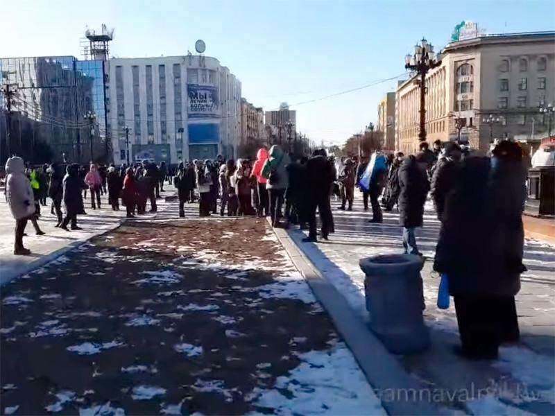 Митинг в поддержку Сергея Фургала в Хабаровске, 28 ноября 2020 года
