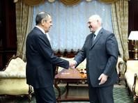 Сергей Лавров и Александр Лукашенко, ноябрь 2018 года