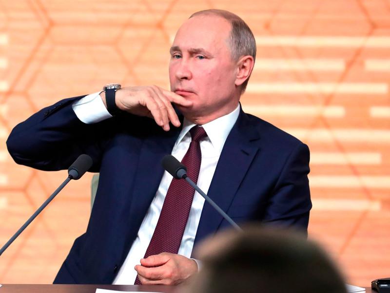Большая пресс-конференция Владимира Путина, 19 декабря 2019 года