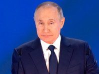 21 апреля Владимир Путин обратился с посланием к Федеральному собранию
