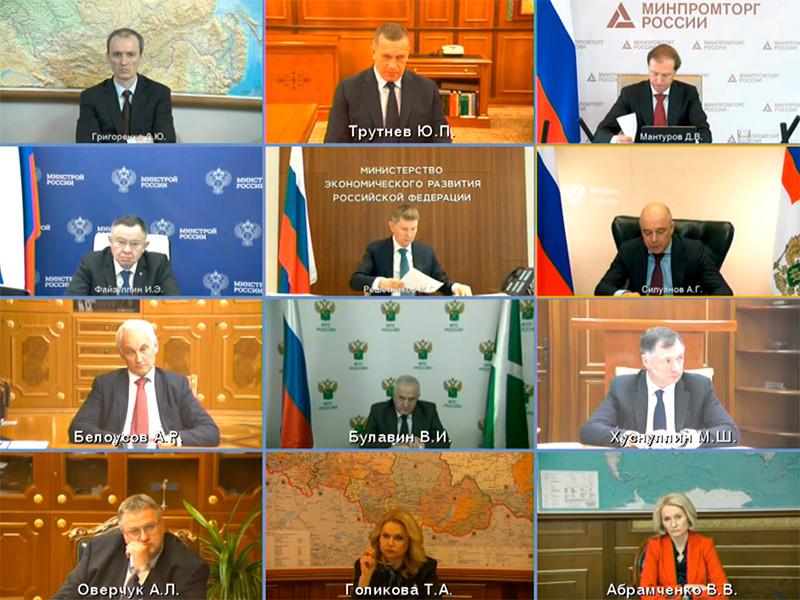 31 марта 2021 года Владимир Путин провел совещание с членами правительства по вопросу о финансировании программ развития регионов