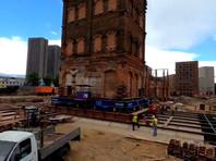 В Москве впервые за 40 лет передвигают исторические здания (ВИДЕО)