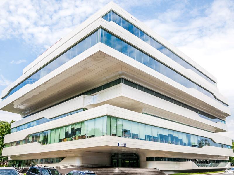 В Москве выставили на продажу БЦ Dominion Tower, построенный по проекту Захи Хадид