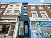 В Лондоне на продажу выставили самый узкий дом (ФОТО)