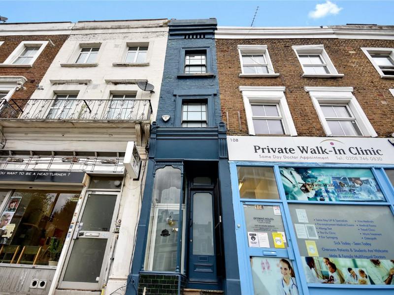 В Лондоне на продажу выставили самый узкий дом