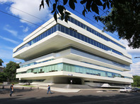 Московский бизнес-центр, построенный по проекту Захи Хадид, снова не смогли продать