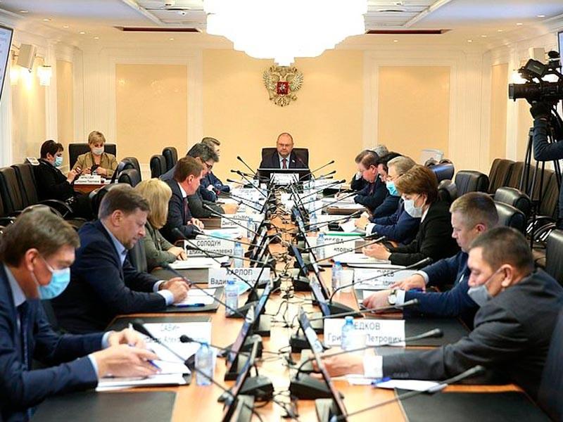 Заседание Комитета СФ по федеративному устройству, региональной политике, местному самоуправлению и делам Севера
