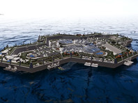 На Багамах создадут искусственный остров для 15 тыс. жителей (ВИДЕО)