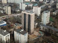 """В Москве обнаружили свою """"пизанскую башню"""". С ней сравнили новостройку в Зюзино, возведенную по программе реновации"""