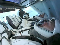 На борту корабля Crew Dragon находятся астронавты NASA Роберт (Боб) Бенкен и Дуглас (Даг) Хёрли