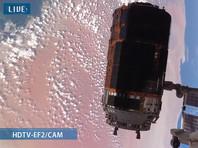 Японский грузовой корабль пристыковался к МКС (ВИДЕО)