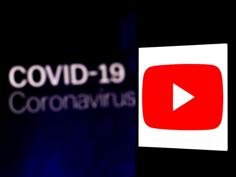 YouTube опубликовал список связанных с Covid-19 тем, которые запрещено поднимать в видеороликах о коронавирусе