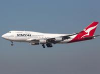 Австралийская авиакомпания Qantas попрощалась с лайнерами Boeing 747. Последний самолет изобразил в небе кенгуру