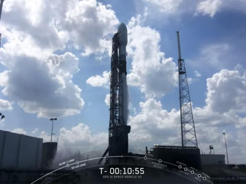 Американская космическая компания SpaceX 30 июня осуществила успешный запуск спутника навигационной системы GPS. Трансляция миссии велась на YouTube-канале SpaceX