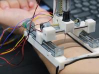 В Южной Корее создали принтер для печати электроники на коже