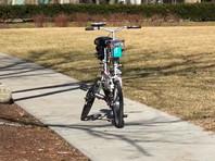 В США создали прототип беспилотного велосипеда для сервисов проката (ВИДЕО)