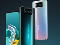 Asus представила флагманский смартфон Zenfone 7 с тройной откидной камерой (ВИДЕО)