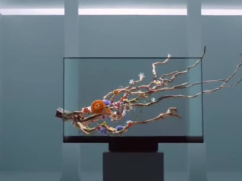 Xiaomi представила прозрачный телевизор за 530 тыс. рублей