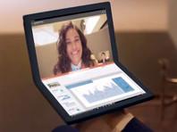 Lenovo оценила первый в мире серийный ноутбук с гибким экраном в 2,5 тыс. долларов (ВИДЕО)