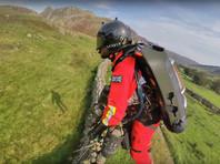 В Великобритании успешно опробовали реактивный ранец для спасателей