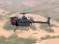 В США разработали дрон-разведчик вертолетного типа (ВИДЕО)