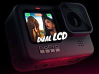 GoPro представила экшн-камеру Hero 9 Black с двумя цветными экранами (ВИДЕО)
