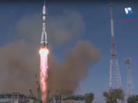 """14 октября на Международную космическую станцию (МКС) был успешно запущен пилотируемый корабль """"Союз МС-17"""" с тремя членами экипажа на борту"""