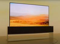 LG начала продажи сворачивающегося 65-дюймового OLED-телевизора (ВИДЕО)