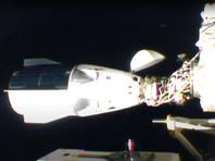 """Предварительная (""""мягкая"""") стыковка со шлюзом американского модуля Harmony была осуществлена в 7 часов 1 минуту по московскому времени, а окончательная (""""жесткая"""") стыковка корабля с МКС произошла через 12 минут"""
