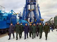 Подготовка к пуску ракеты тяжелого класса «Ангара-А5» на космодроме Плесецк