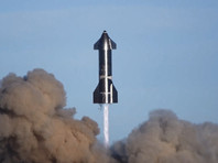 SpaceX показала новое ВИДЕО испытаний прототипа корабля Starship